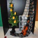 """Sing a Song of Roses"" by Jeannette Lawrence, Fort Dodge Federated Garden Club (90+ design)"