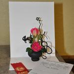 """Tiny Notes"" - by Pam Gollob, Fort Dodge Federated Garden Club (90+ design)"
