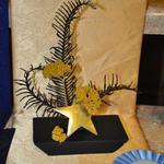 """Starry, Starry Night"" - by Janna Boyd, Pella Garden Club; Petite Award (for top small design in show 8 inches or less in any direction)"